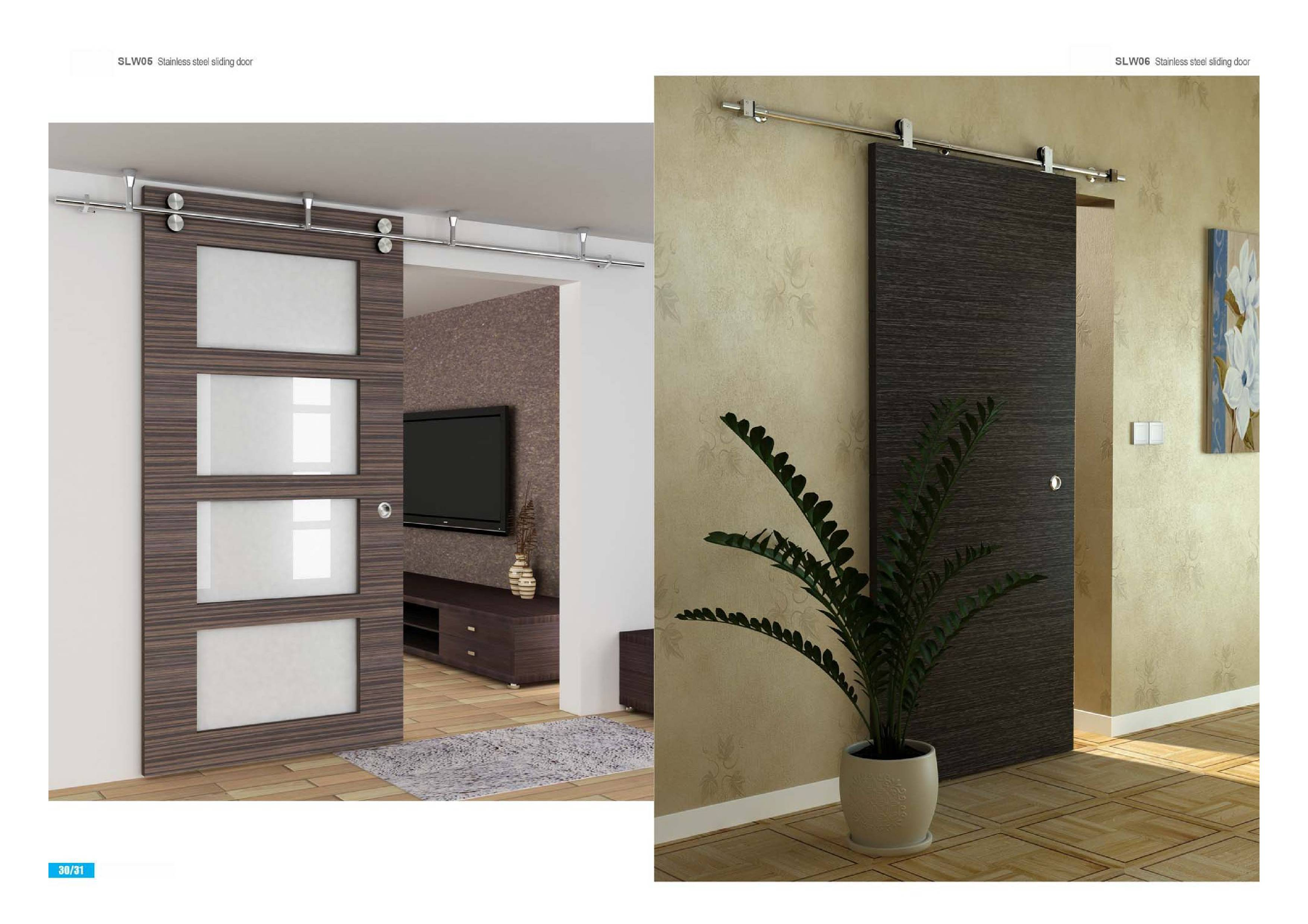 Sliding Barn Doors - ADR signature